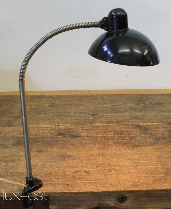 kaiser idell arbeitsplatz schreibtisch lampe bauhaus design workplace lighting ebay. Black Bedroom Furniture Sets. Home Design Ideas