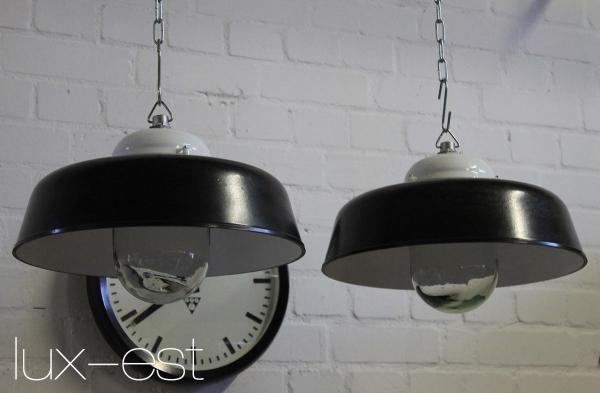 """1of 15 /""""APOLDA PENDEL/"""" Industrie Fabrik Loft Lampe Bakelit Industrial Lighting"""