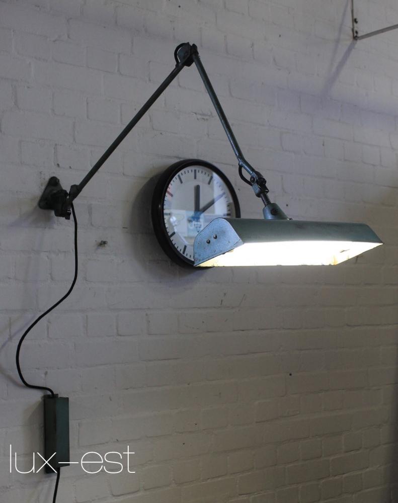 Midgard Neon Industrial Workplace Lamp Bauhaus Design