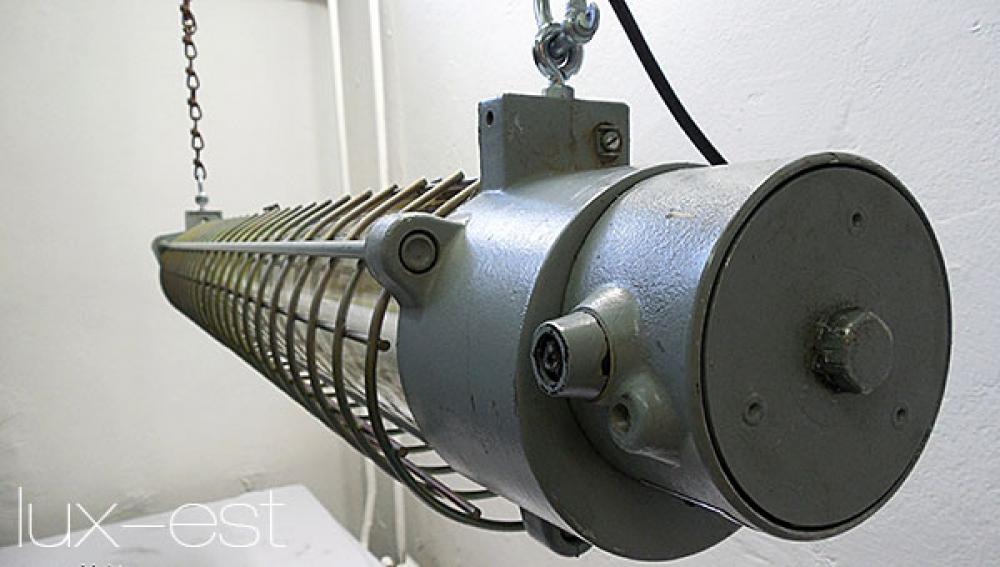 Calau Cage Industrie Gitter Neonlampe Loftstyle