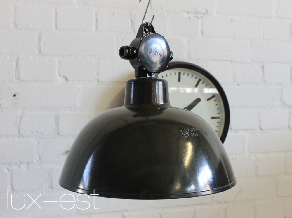 Fabriklampe gotha s bakelit industriedesign kaufen