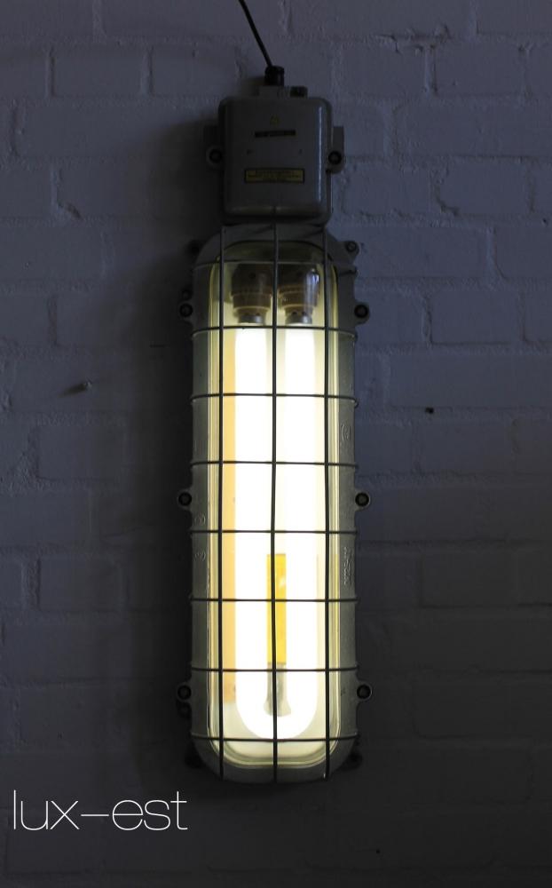 bernau industrie design ex bunker lampe neon eow. Black Bedroom Furniture Sets. Home Design Ideas
