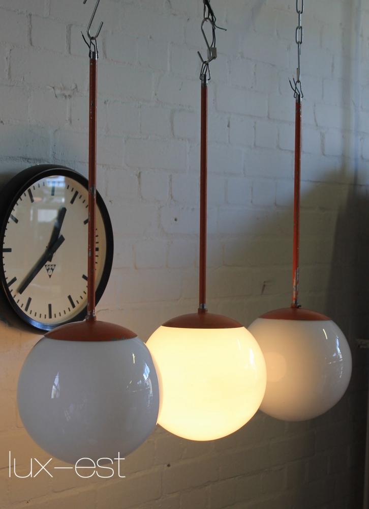 Sara M Pendel Design Lampe Opal Glas