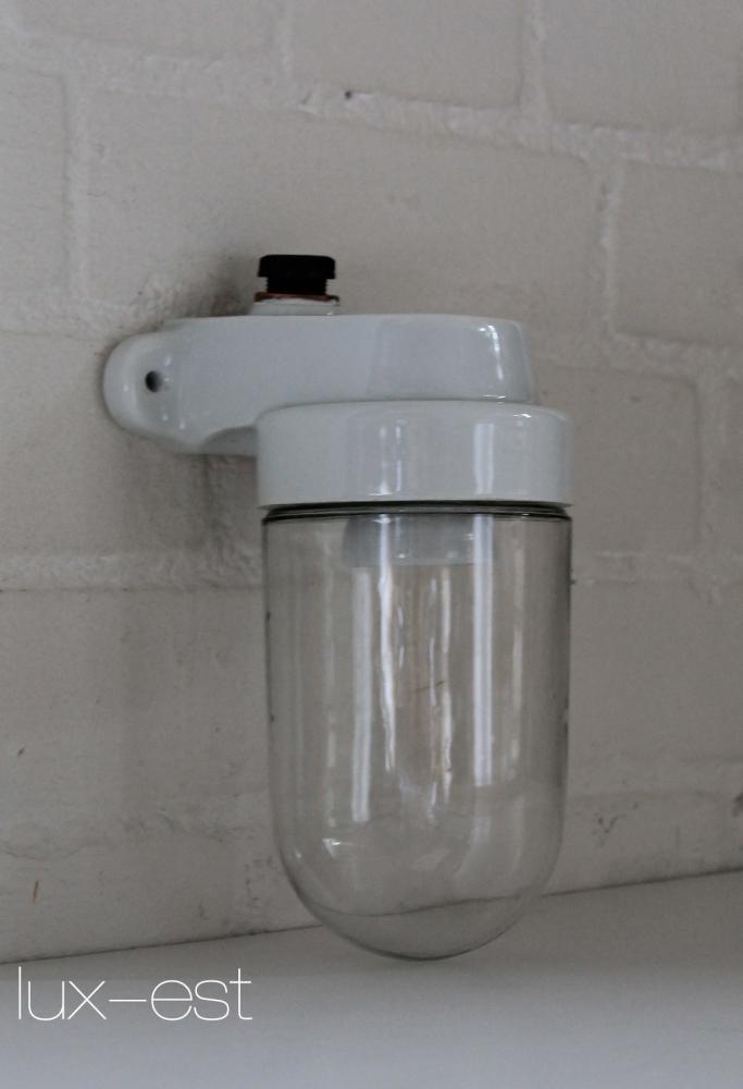 Trier s 90 bauhaus design lampe porzellan for Lampen replikate