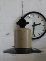 "1 of 6 /""AUMA/"" Fabrik Industrie Lampe Industrial Lamp Loftlampe Werkstatt DDR VEB"
