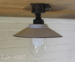 Unique. Offered is an industrial design ceiling lamp. Industrial design lamp consisting of